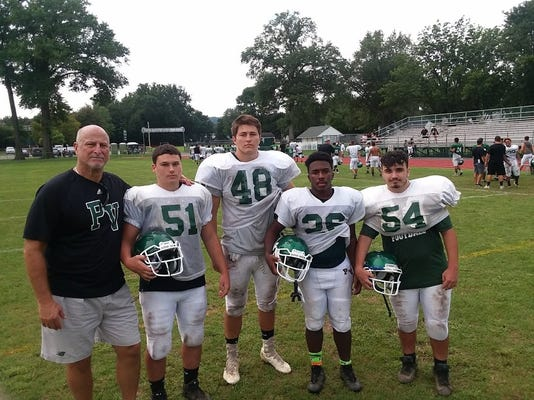 Passaic Valley football captains