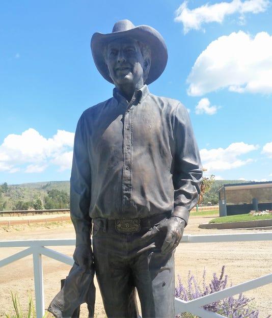Jack Brooks Statue