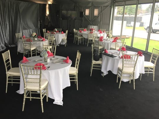 The temporary dining area has continued to service Western Golf & Country Club members during the summer months following the June 1 clubhouse fire.
