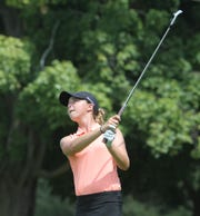 Northville's Nicole Whatley took third with a 1-over 72 in the Coach Miller Invitational held Aug. 27 at Oak Pointe.