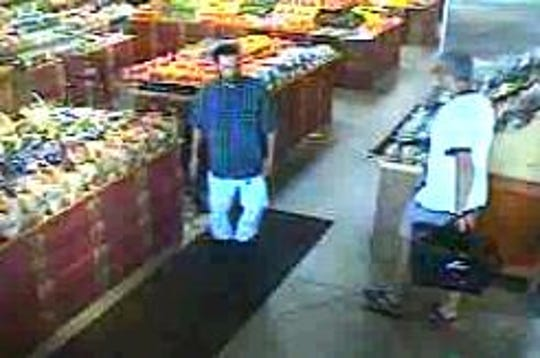 Another photo of a man sought for shoplifting from a Bloomfield Township store.