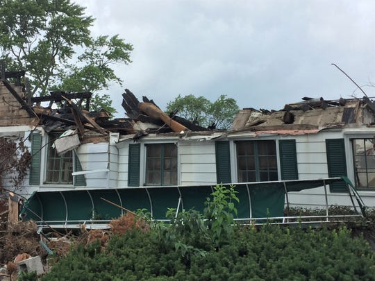 Much of the clubhouse at Western Golf & Country Club in Redford was damaged by the June 1 fire.