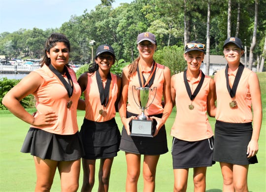 Northville won its fourth girls golf tournament of the month Aug. 27 at Oak Pointe in Brighton.