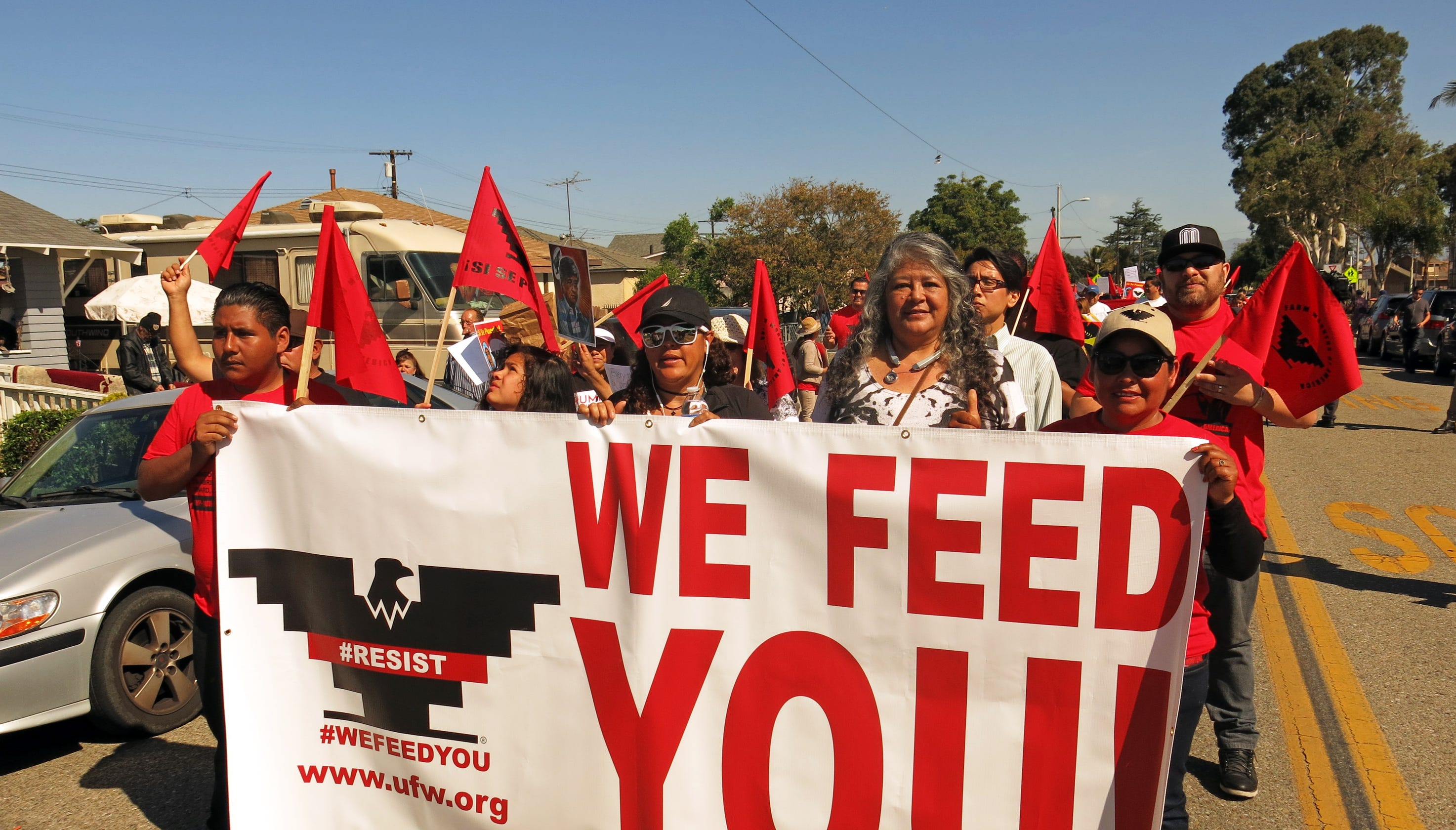 United Farm Workers March