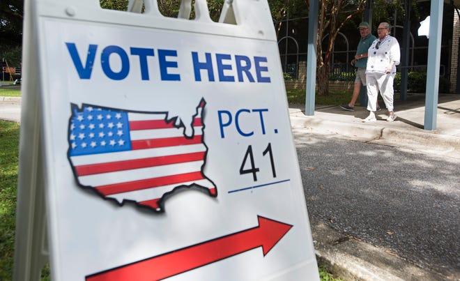 Local voters find time to visit the polls on election day, Tuesday, Aug. 28, 2018. The Pensacola mayor race is one many are watching.