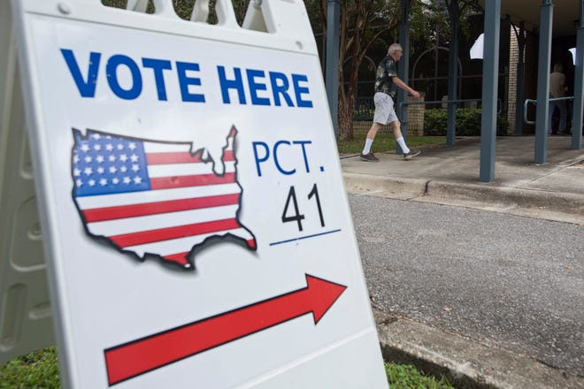 Local voters find time to visits the polls this primary election day, Tuesday, Aug. 28, 2018. The Pensacola Mayors race is one many are watching.