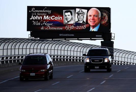 John McCain billboard