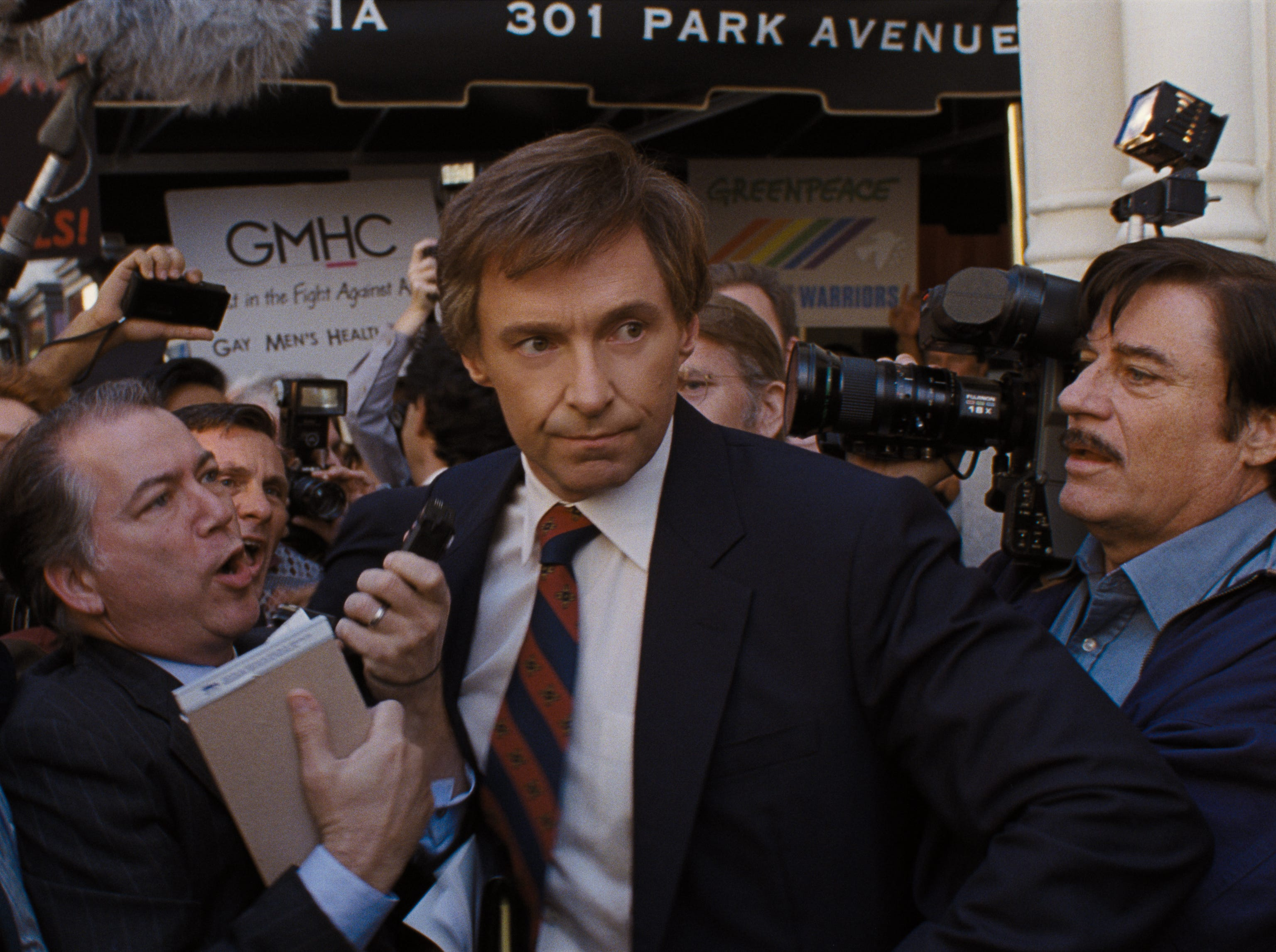 "Hugh Jackman stars in Columbia Pictures' ""The Front Runner"" (Nov. 21)."
