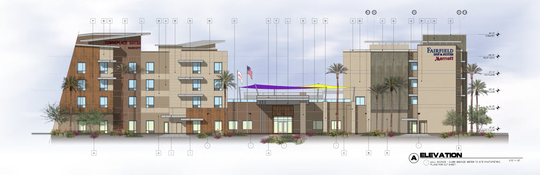Two Marriott brand hotels, a Fairfield Inn and Suites and TownePlace Suites, are planned for the southwest corner of Paradise Lane and 75th Ave. in Peoria. They are two of 13 hotels that are in various stages of planning and development across the West Valley.