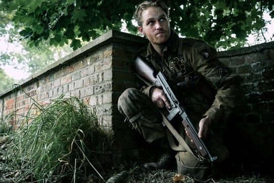 """Wyatt Russell in """"Overlord."""" (Nov. 9)"""