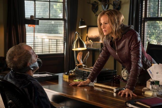 "Jeff Harlan and Jennifer Garner star in ""Peppermint"" (Sept. 7)."