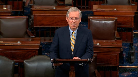 Mitch McConnell tribute McCain