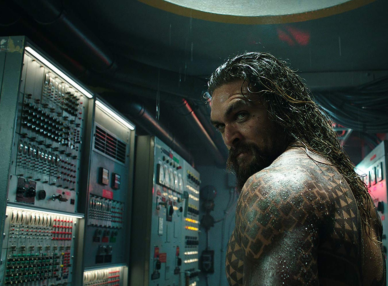 "Jason Momoa in ""Aquaman"" (Dec. 21)."