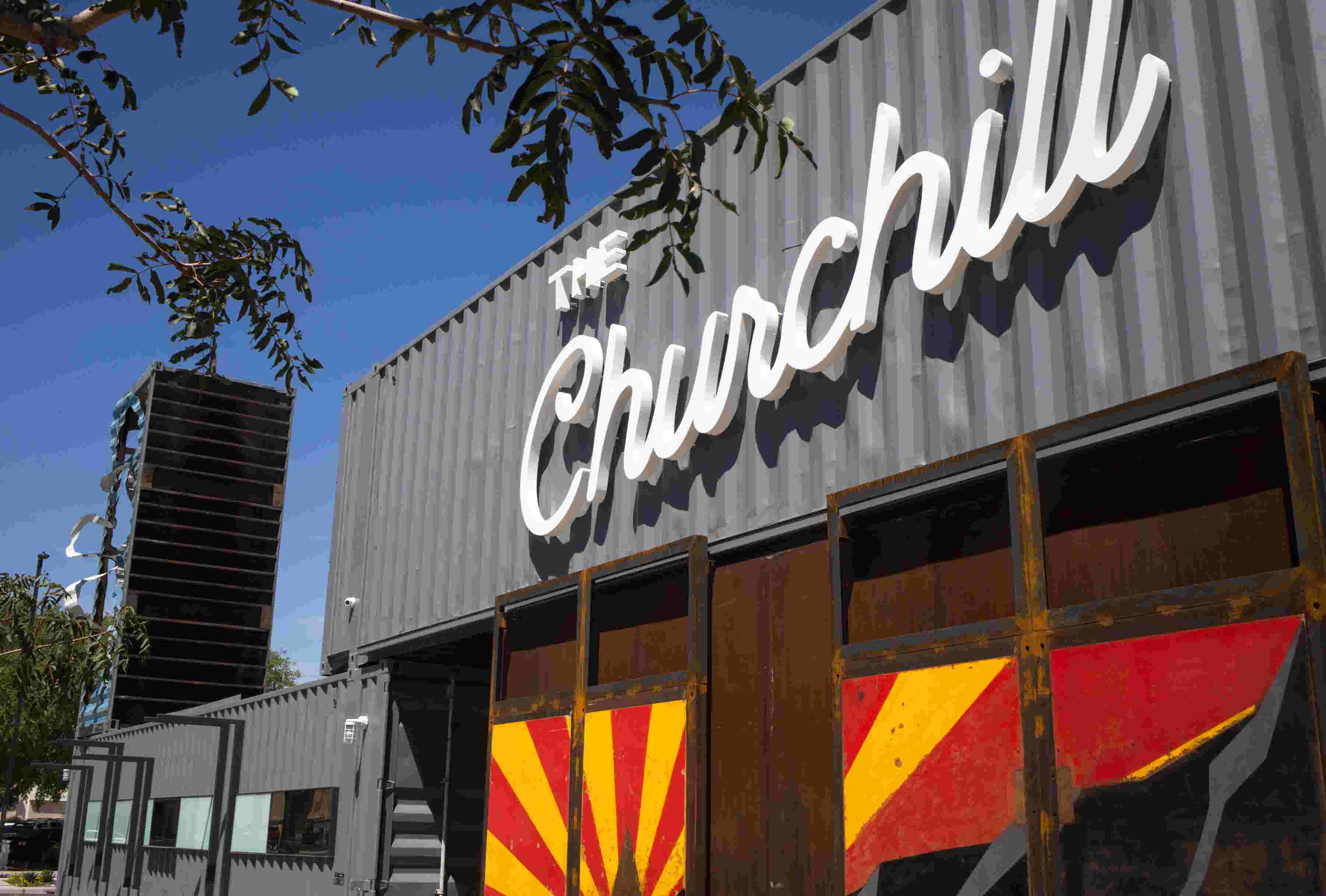 First Look The Churchill Shipping Container Brings Restaurants S Diversity To Downtown Phoenix