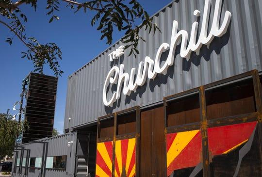 The Churchill, August 28, 2018, at 901 N. 1st Street, Phoenix.