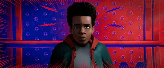 """""""Spider-Man: Into the Spider-Verse"""" (TBD):Miles Morales fans, rejoice: The Brooklyn webslinger takes center stage in this animated take that shows there's more than one """"friendly neighborhood Spider-Man.""""