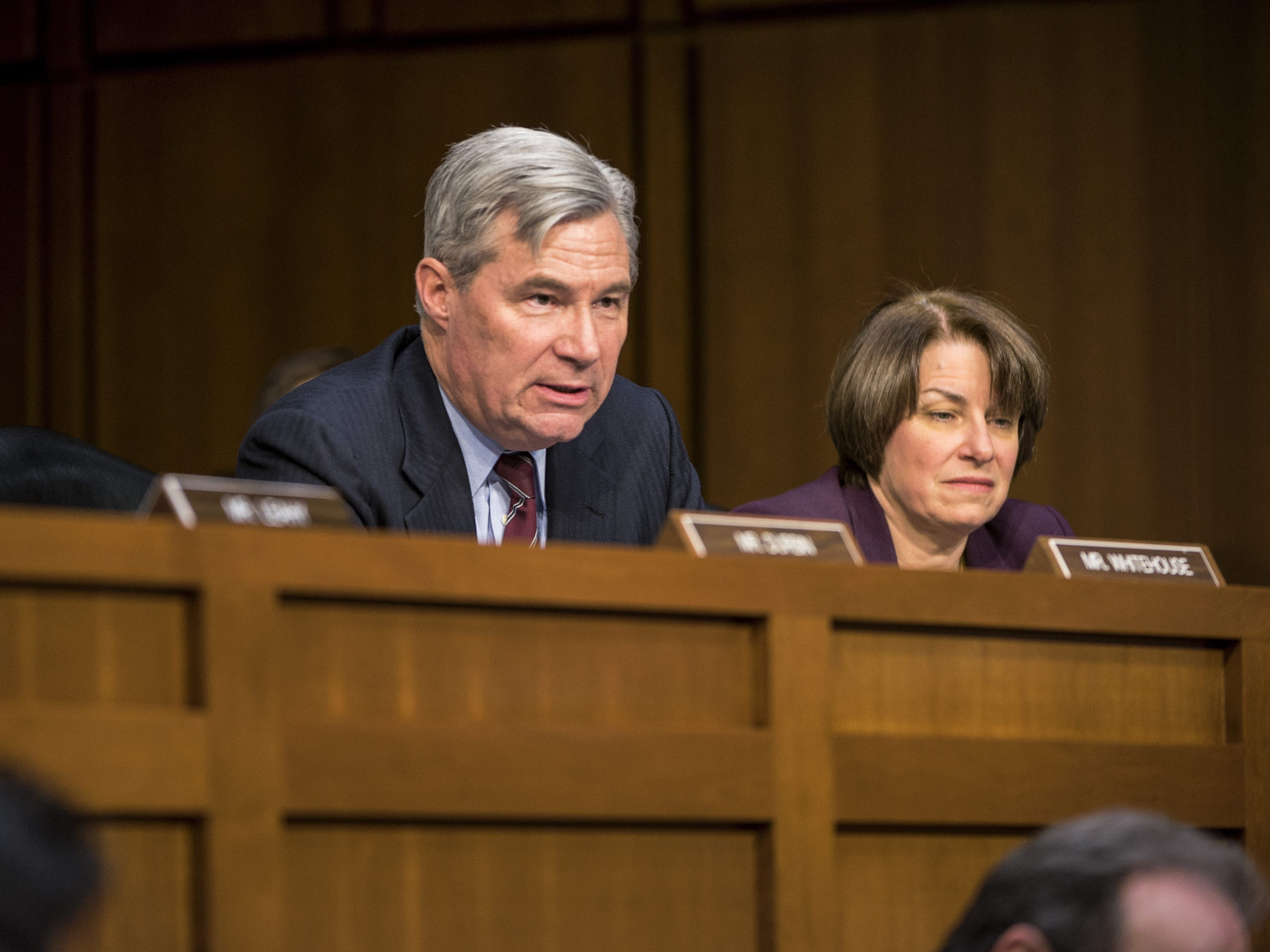 Sheldon Whitehouse (Washington D.C.): Second-term United States Senator from Rhode Island. Formerly, Attorney General for the State of Rhode Island and Providence Plantations; U.S. Attorney for the District of Rhode Island.