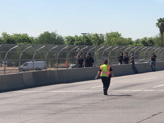 Police situation closes part of I-10