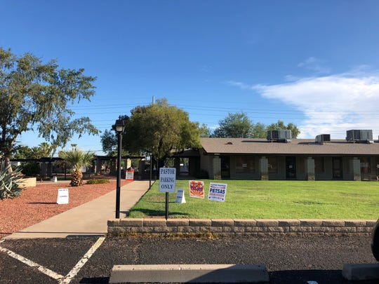 Voters at Emmanuel Presbyterian Church in Phoenix reported having difficulties voting the morning of Aug. 28, 2018. Equipment was down for less than an hour with no ability to verify voter identification.