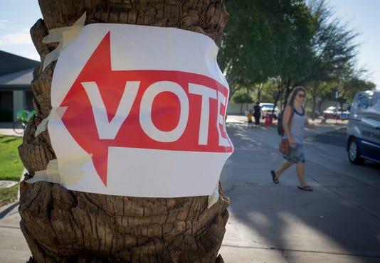 Voting at Escalante Community Center