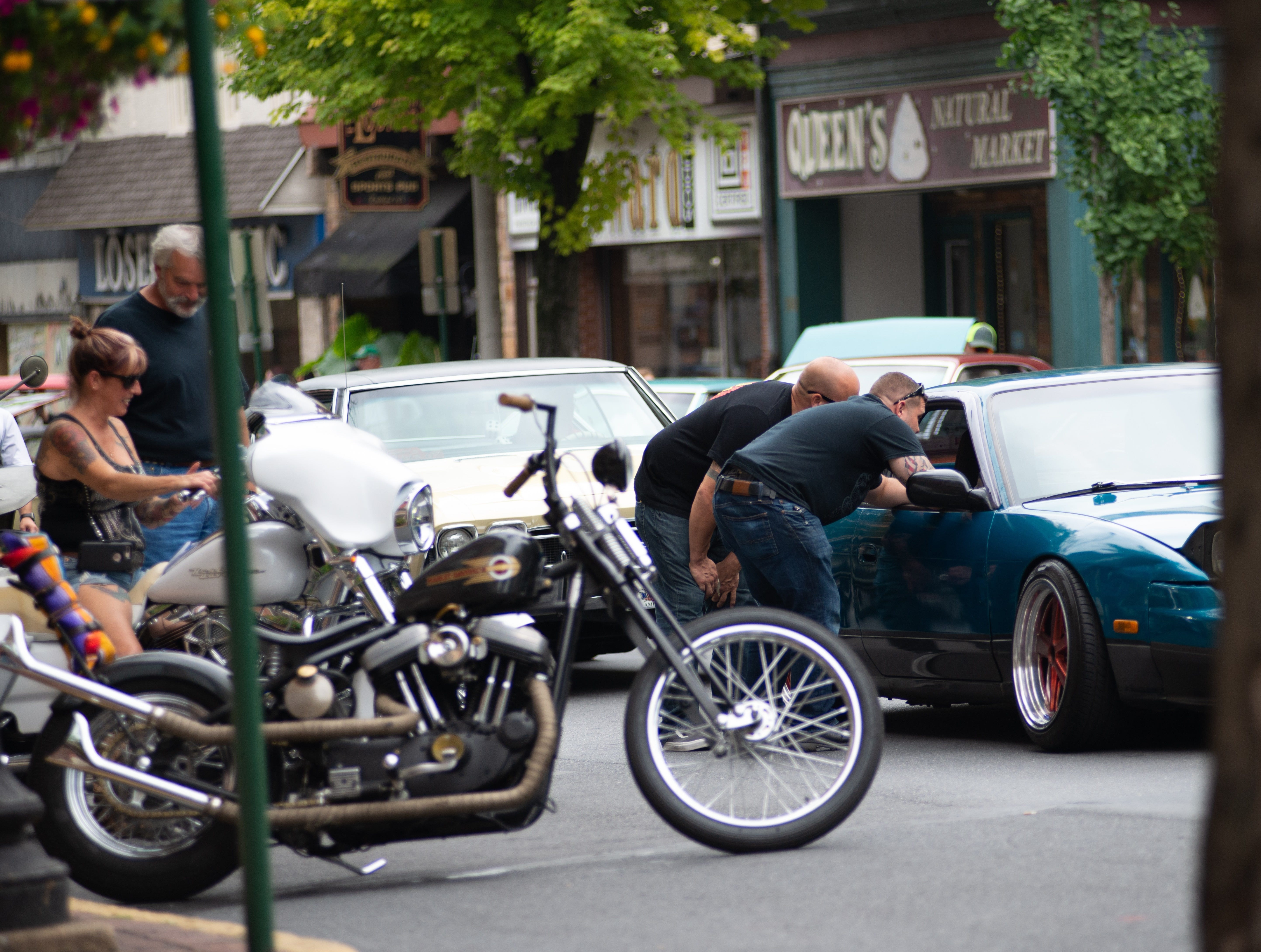 Cumberland Street in downtown Lebanon was shut down Sunday, Aug. 26, 2018 for the Community of Lebanon Association Car & Motorcycle Show. Numerous cars, old and new, were on display.