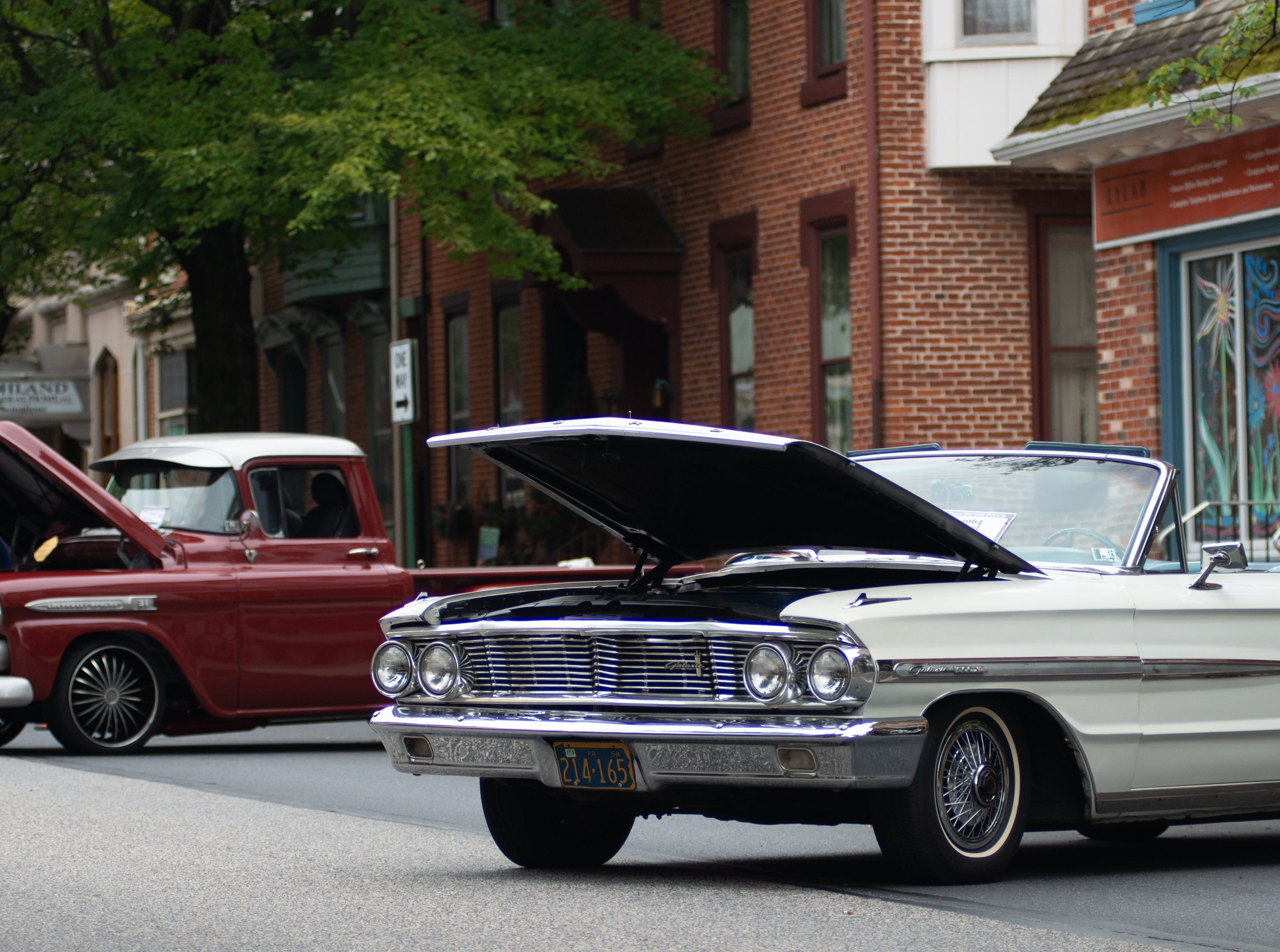 On Sunday, Aug. 26, 2018, Cumberland Street in downtown Lebanon was shut down for the Community of Lebanon Association Car & Motorcycle Show. The event had been initially scheduled for Aug. 19. Numerous vehicles old and new were on display.
