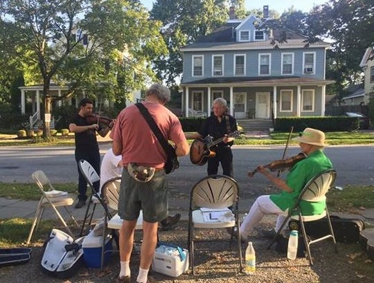 Rhinbeck's third annual Porchfest returns Sept. 29. A hundred musicians perform on porches of historic homes in downtown Rhinebeck.