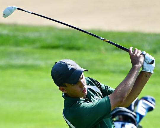 York Tech's Alex May was the individual medalist with a 79 during a York-Adams League Division III golf tournament at South Hills Golf Club on Monday. Dawn J. Sagert photo
