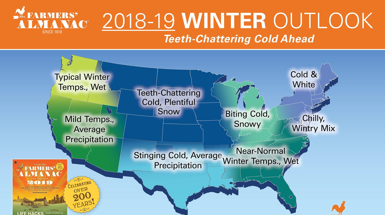 Farmers\' Almanac winter prediction: Long, cold, snowy in Pa. region