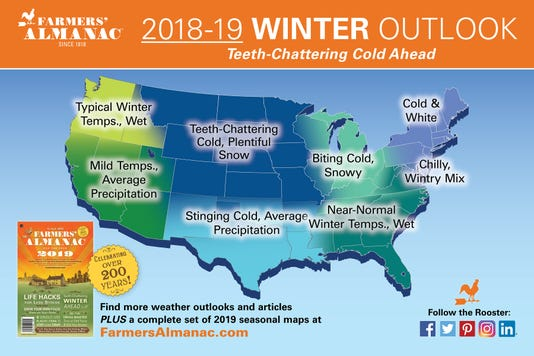 2019 Us Farmersalmanac Mediamap Winter