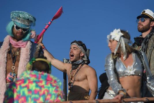 Sunrise At Burning Man 54