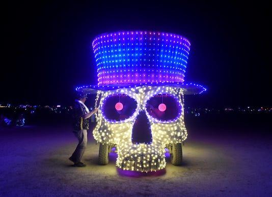 Burning Man At Night 28