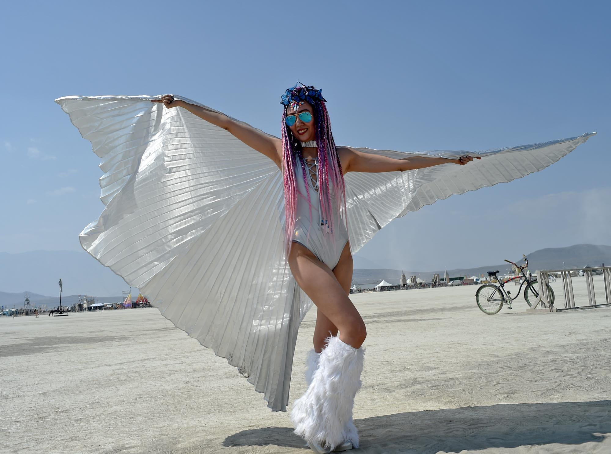 Images from Burning Man on Monday August 27, 2018.