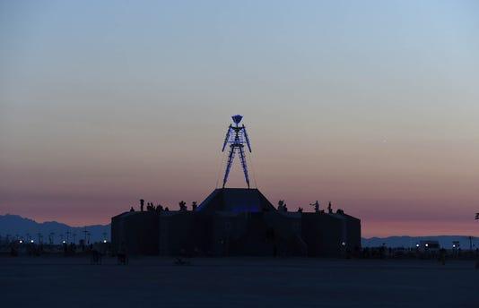 Sunrise At Burning Man 2