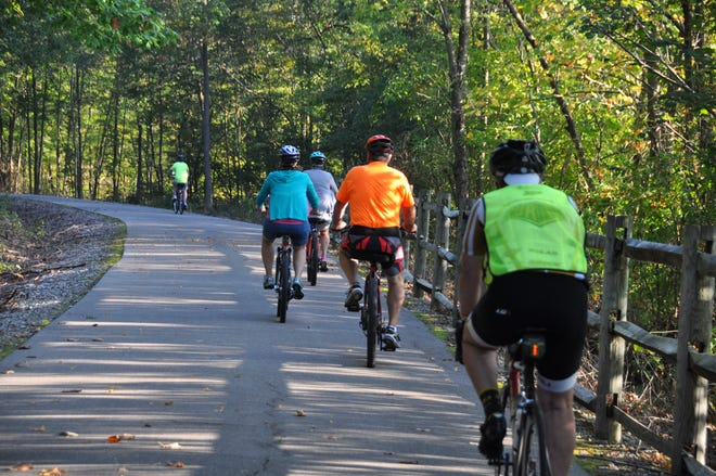 The Wayne County Cardinal Greenway's sixth annual BikeTOURberfest fundraising ride will be Sept. 29, 2018.