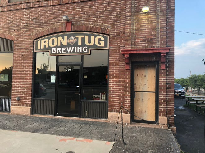 Iron Tug Brewing on West Ridge Road in Rochester was the victim of a smash-and-grab burglary over the weekend.