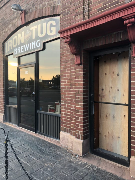 Someone broke into Iron Tug Brewing on West Ridge Road late Saturday night or Sunday morning, according to the brewery owner.