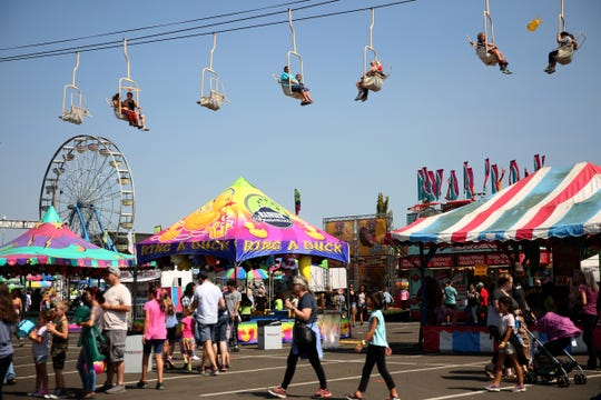 Oregon State Fair: Features rides, games, Dog Town, Artisan's Village, vendors, food, concerts, competitions, petting zoo and more, Aug. 23-Sept. 2, Oregon State Fairgrounds, 2330 17th St. NE. oregonstatefair.org.