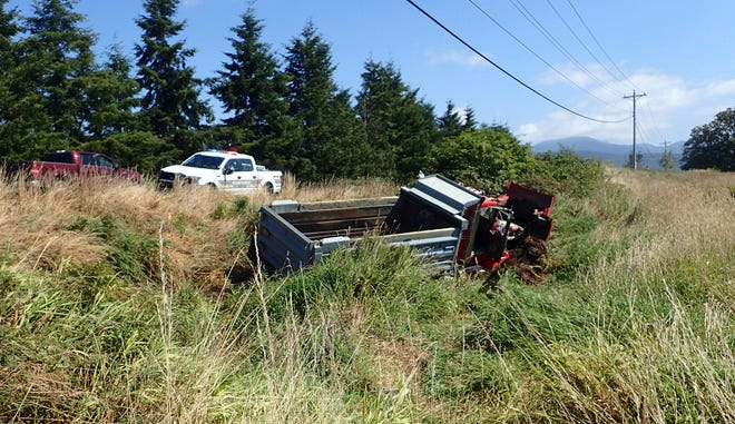 A truck driver died following a crash on Highway 101 Monday afternoon.