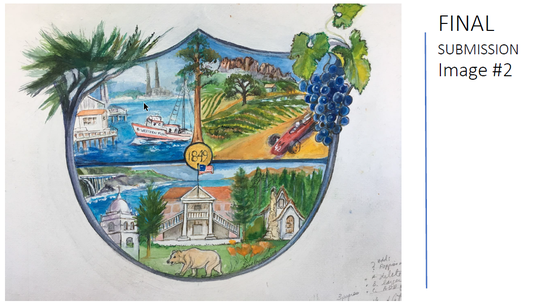 This is one of four finalists for the official flag of Monterey County.