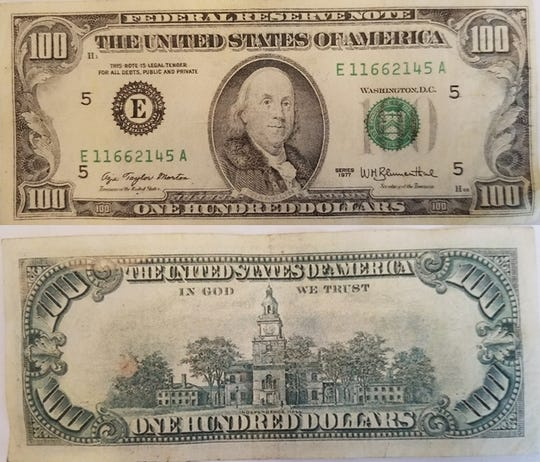 These counterfeit bills were used at Rehoboth Beach businesses over the weekend.