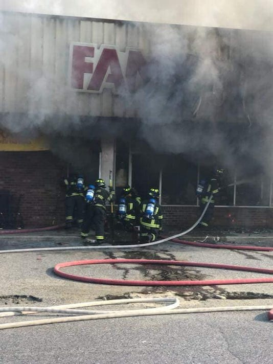Georgetown Fire Company Family Dollar Fire 4