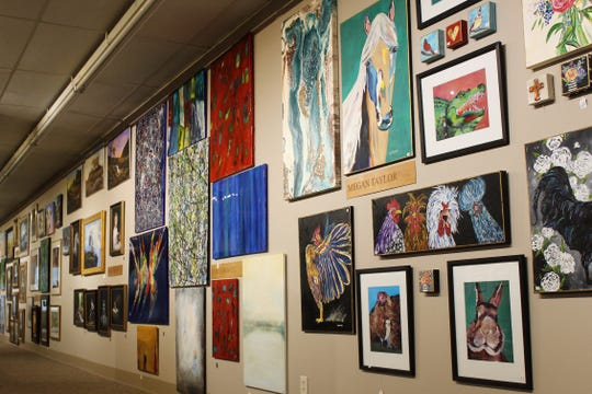Ron Atwood Shreveport West Gallery features more than a dozen regional artists' collections, available for purchase.