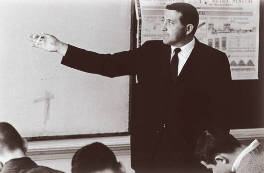 Frank Cicero taught science at what is now Loyola College Prep for 45 years.