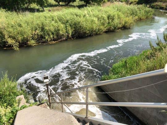 The Rapid City Water Reclamation Facility releases about 12 million gallons of treated wastewater each day into a section of Rapid Creek, a few miles east of downtown.