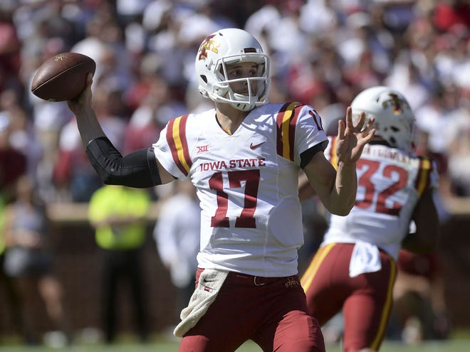 Kyle Kempt went 5-3 as Iowa State's starting quarterback in 2017