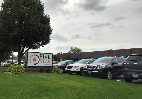 Five Star Call Centers is based in Sioux Falls and is one of the fastest growing companies in South Dakota and Sioux Falls, with a placement on this year's Inc. 5000 list.