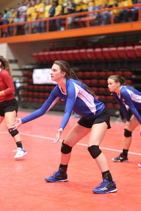 Kylee Van Egdom volleyball