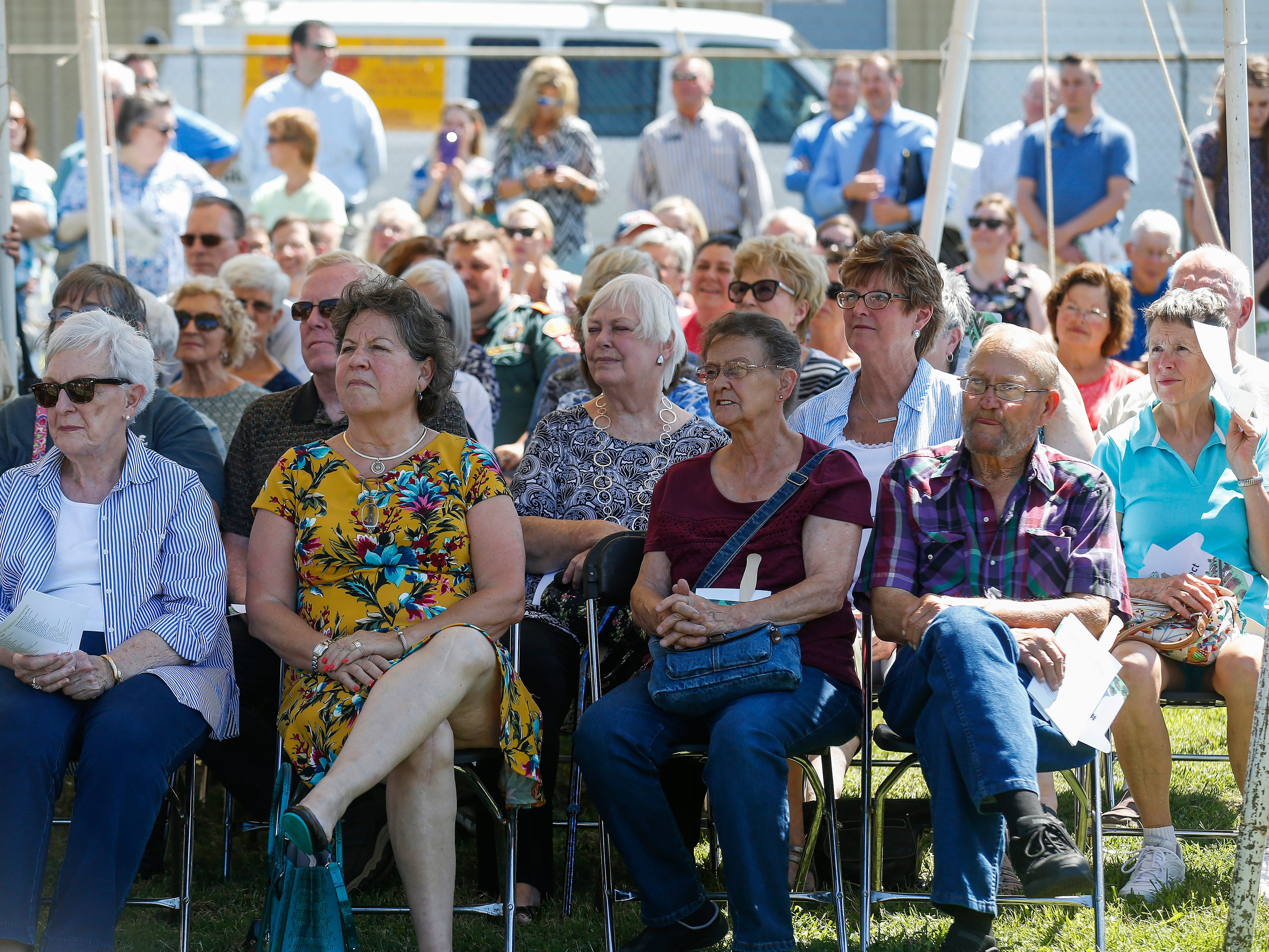 Scenes from the Grand Opening Ceremony at Eden Village on Tuesday, Aug. 28, 2018.