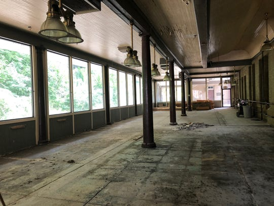 Staunton Station on Middlebrook Avenue, which used to be the home of the Pullman restaurant, is being renovated into an event and wedding venue.